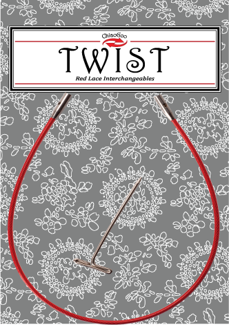 """TWIST™ Red Cables 8"""" (20 cm) Image"""