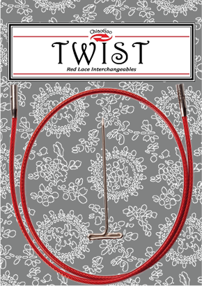 """TWIST™ Red Cables 14"""" (35 cm) Image"""